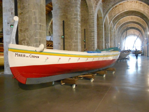I'd never been particularly interested in boat museums in Scotland, but find me one in Barcelona and I'm suddenly an enthusiast.