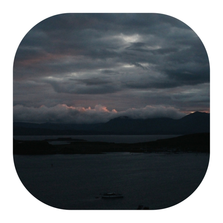 diary of a mental breakdown - sunset light moody oban scotland